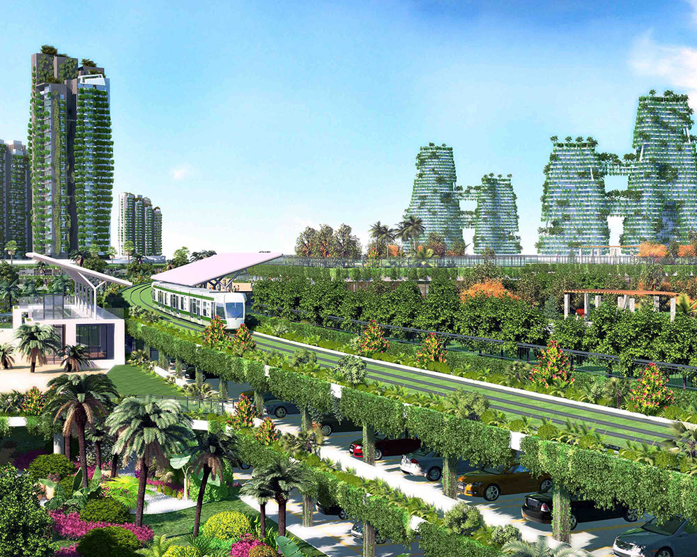 vertical greenery | vertical greenery system | forest city vertical greenery